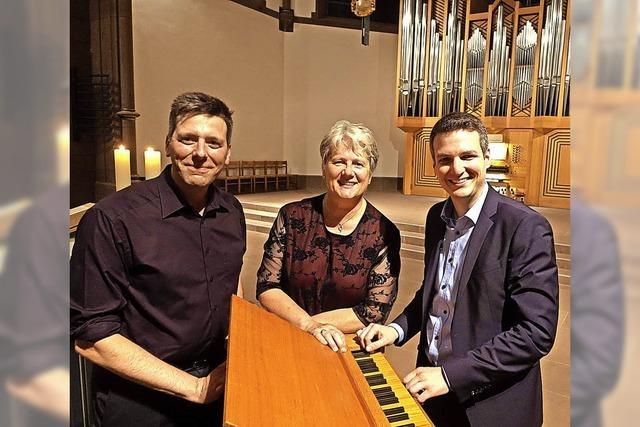 Furioses Finale an drei Orgeln