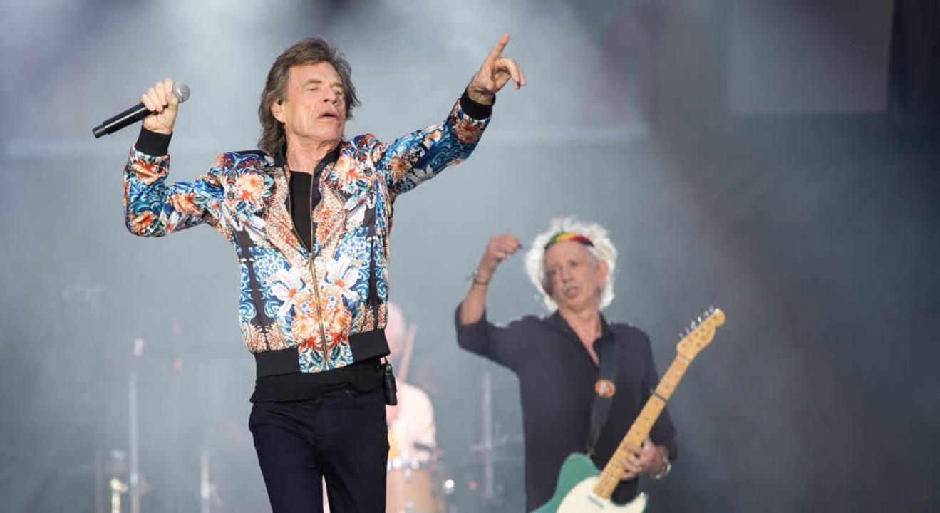 Mick Jagger in Stuttgart  | Foto: dpa