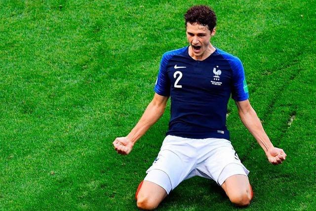 Stuttgarter Benjamin Pavard überzeugt bei der WM als Rechtsverteidiger