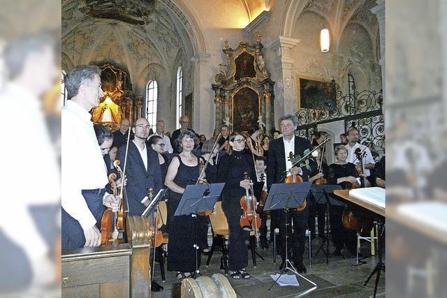 Glasklare Klänge in der Kirche