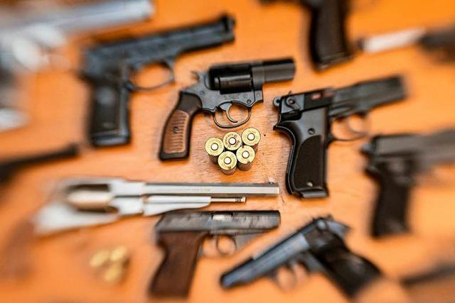 Landratsamt: 205 Waffen und 200 Kilo Munition im Kreis Lörrach zurückgegeben