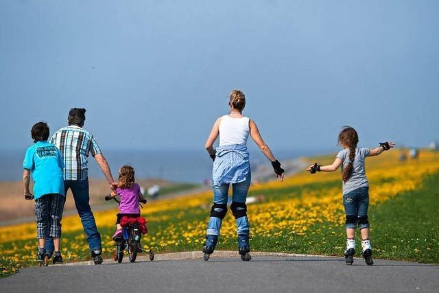 Viele Familien bewegen sich zu wenig