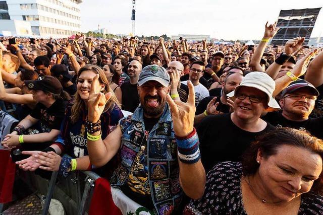 Nächstes Jahr wird es kein XL-Konzert wie von Iron Maiden geben
