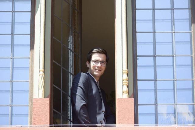 So verbrachte Martin Horn seinen ersten Tag im Freiburger Rathaus
