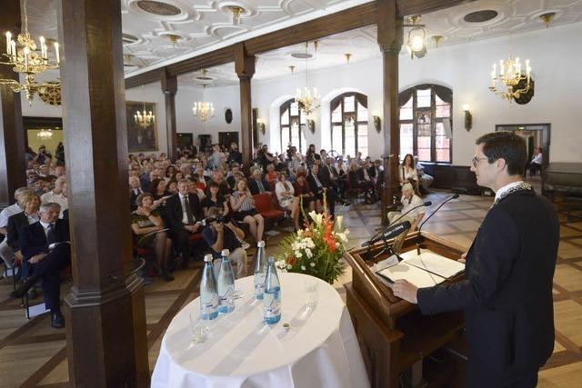 Dokumentation: Martin Horns erste Rede als Freiburger Oberbürgermeister