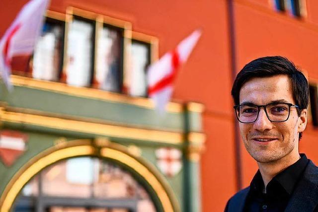 Martin Horn startet in seinen neuen Job als Freiburger Oberbürgermeister