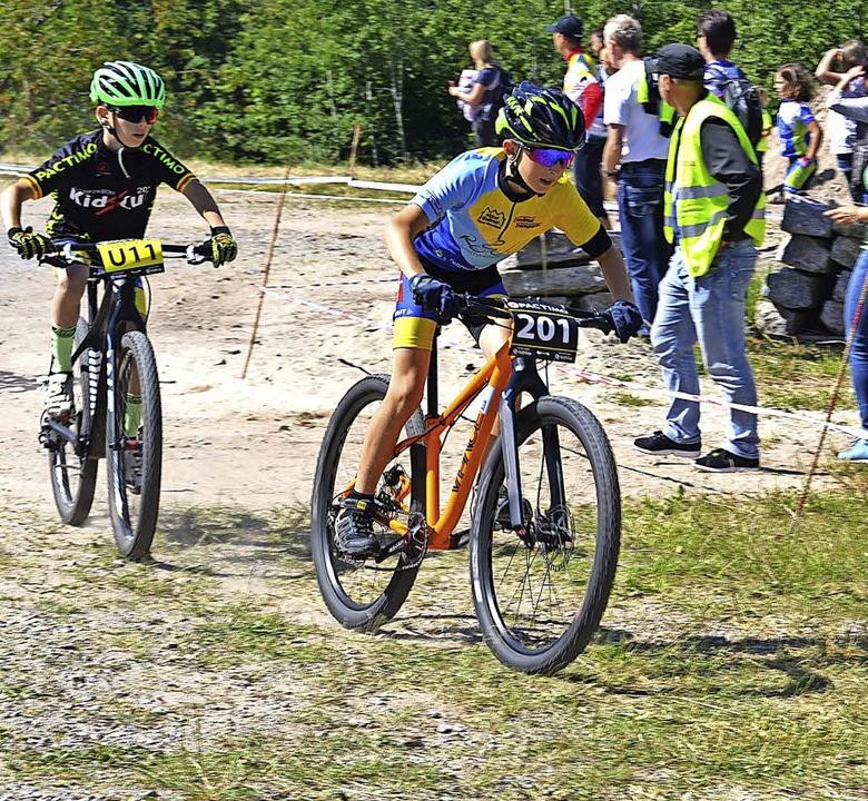 Beim Mountainbike-Kidscup ist Fahrkönnen gefragt.    | Foto: junkel