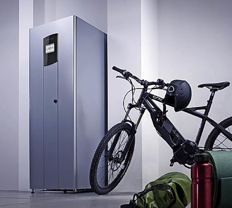 Technik mit Potenzial: Batteriespeicher   | Foto: BAERWALD/BOSCH