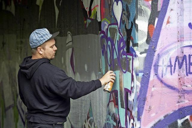 Kunst statt Farbschmiererei