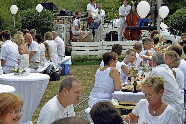 Drittes Zartener White-Dinner