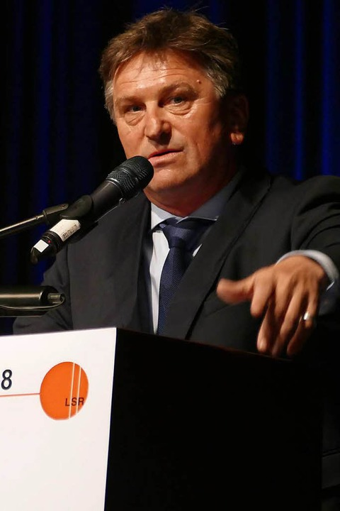 Sozialminister Manfred Lucha  | Foto: Sylvia Sredniawa