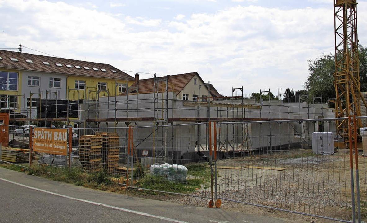 Ein neuer  Kindergarten wird zurzeit in Gottenheim gebaut.   | Foto: Mario Schöneberg