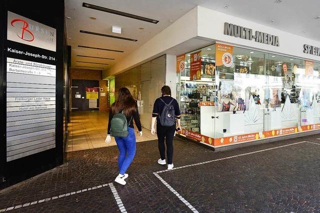 Bursengang-Passage wird baulich geschlossen – denn Müller expandiert
