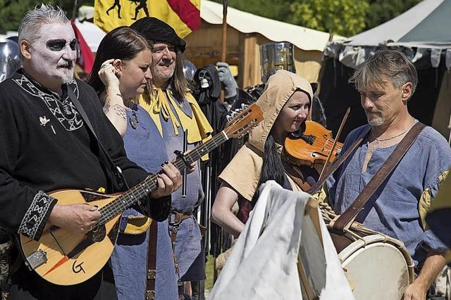 Mittelalterspektakel in Reiselfingen