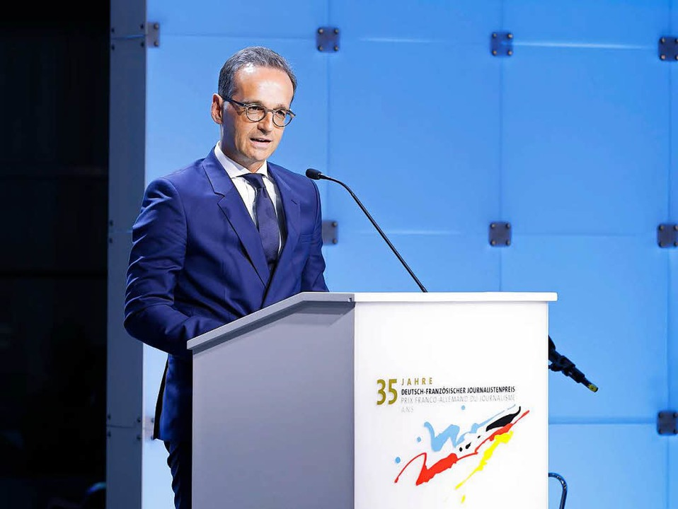 Heiko Maas  | Foto: DFJP/Thomas Koehler/photothek.net