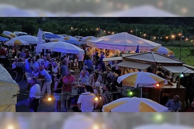 Sommerfest mit Open-Air-Atmosphäre