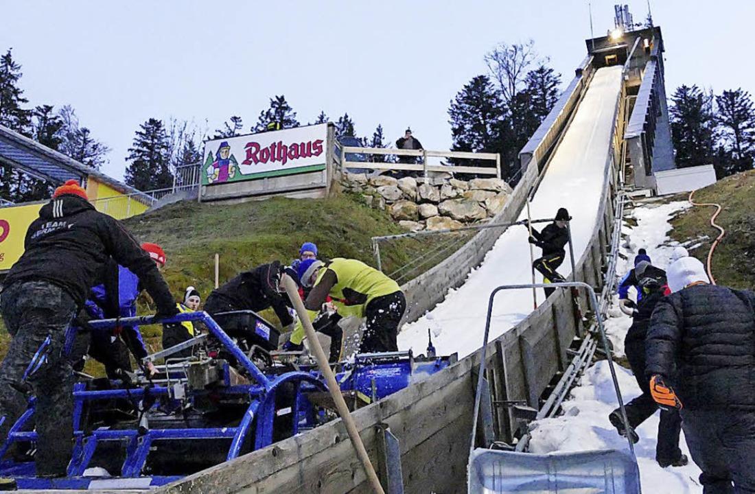 Dringend sanierungsbedürftig: Der maro...r 2,2 Millionen Euro umgebaut werden.   | Foto: bachmann
