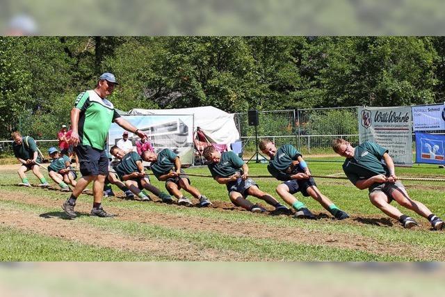 Tauziewettkämpfe des Dream Teams Siegelau in Gutach im Elztal