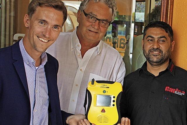 Defibrillator für Gundelfingen