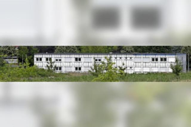 Abbau der Flüchtlingsunterkunft in Staufen verzögert sich