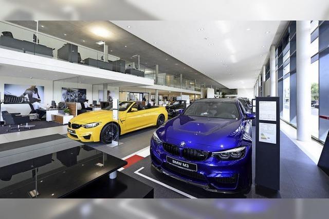 Hansjörg Märtin weiht am Wochenende das neue BMW-Autohaus ein