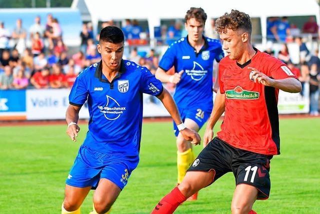 SC Freiburg gewinnt Testspiel gegen FC Waldkirch mit 15:0