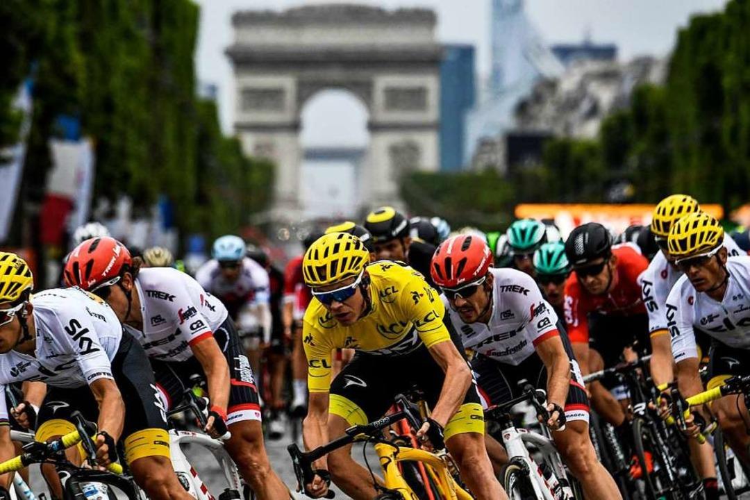 Solange die Tour de France satte Gewin...maury kaum um die sportlichen Aspekte.    Foto: AFP