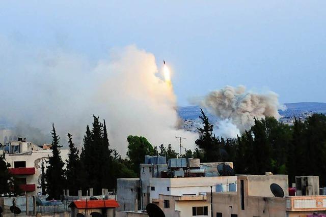 Krieg in Syrien: Assad ist auf Siegeskurs