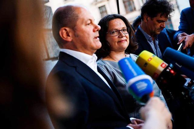 SPD und Union ändern zentrale Punkte am Asyl-Kompromiss der Schwesterparteien