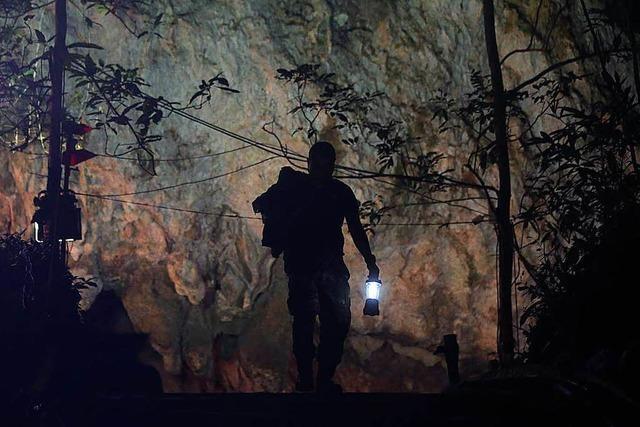 Taucher bei Rettungsaktion in thailändischer Höhle ums Leben gekommen