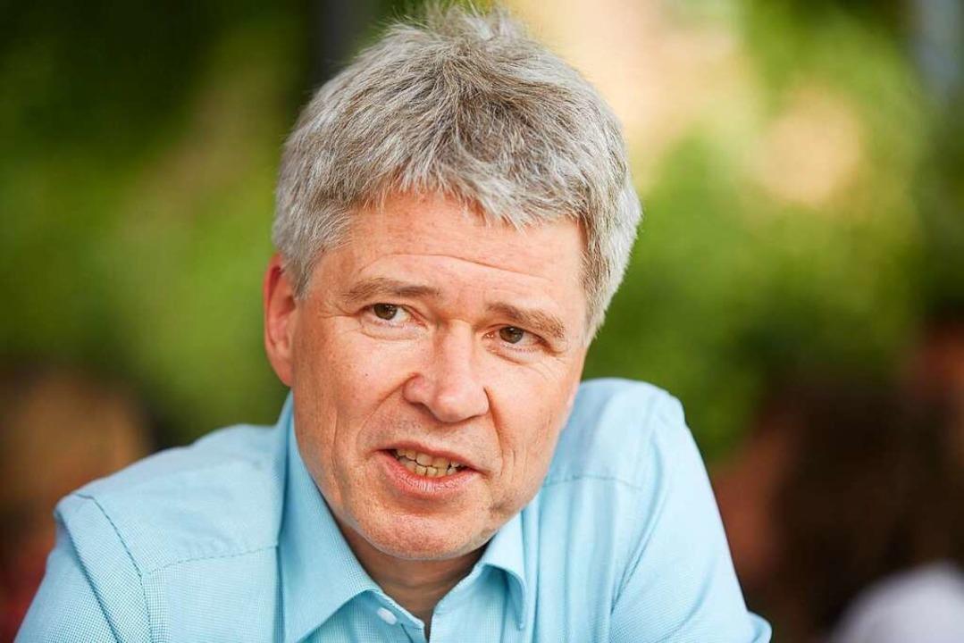 Das offizielle Kandidatenfoto: Harald ...erbürgermeister von Offenburg werden.   | Foto: Wilfried Beege