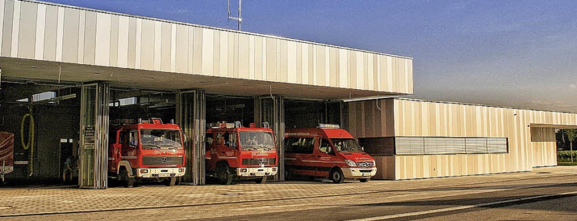 Zentral gelegen: das neue Gerätehaus  | Foto: M. Messerschmidt