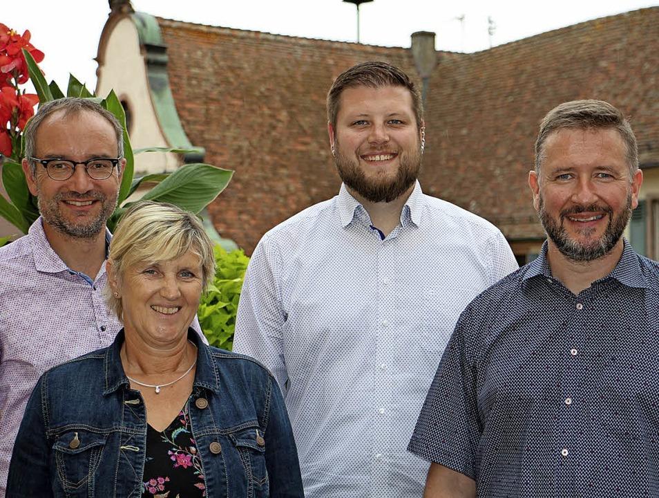 Freuen sich über die Entscheidung zur ...e Löffler, Kevin Kuhn und Fabio Croce.  | Foto: Ruth Seitz