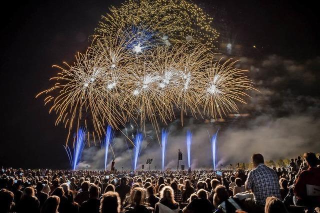 Feuerzauber im Dreiländergarten