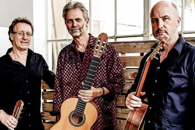 Gitarrentrio Cuadro Sur präsentiert in Offenburg Bilder des Südens