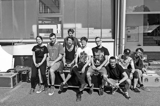 Film-Crew dreht in Firma