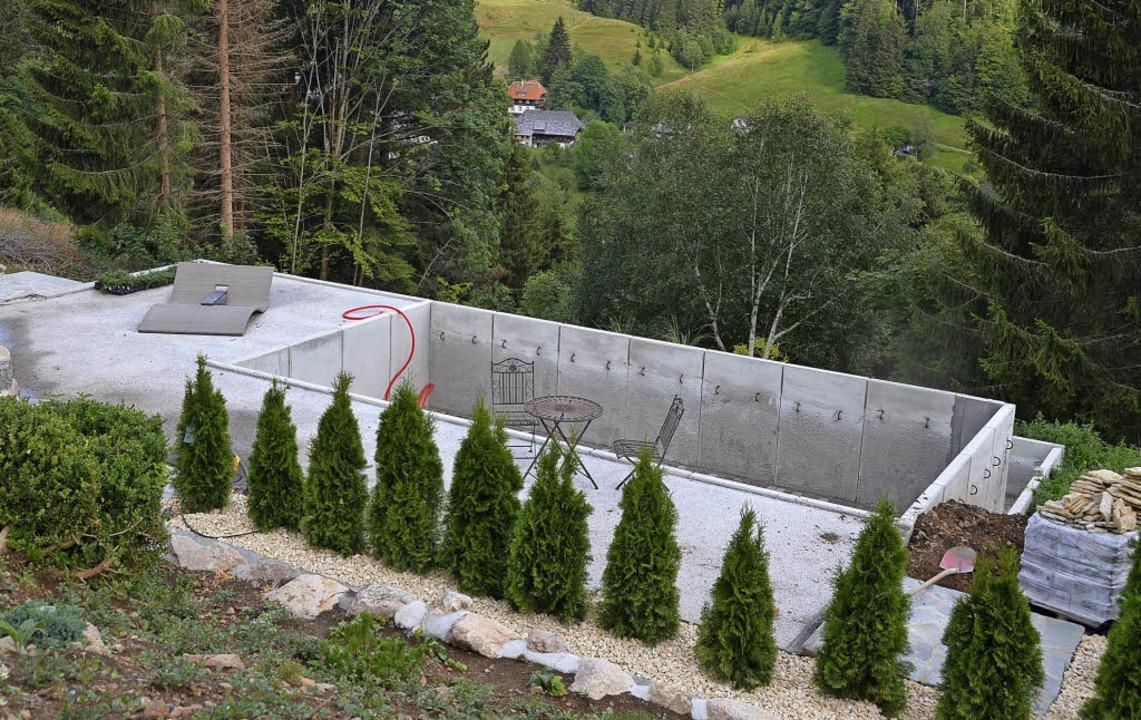 Die Errichtung des Whirlpools wurde be...rwirklicht wird, steht in den Sternen.    Foto: Christiane Sahli