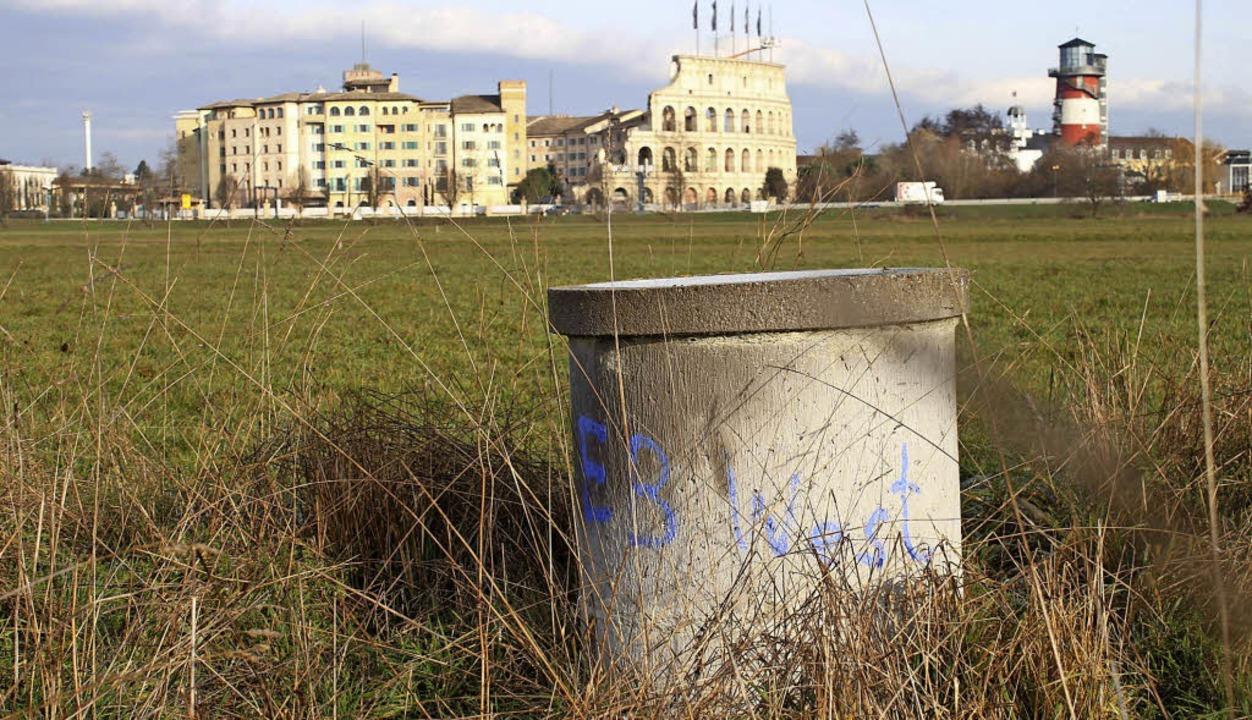 Jetzt kann der Testbrunnen südlich des...bikmeter Trinkwasser pro Jahr fördern.  | Foto: ARCHIVFOTO: MUTZ