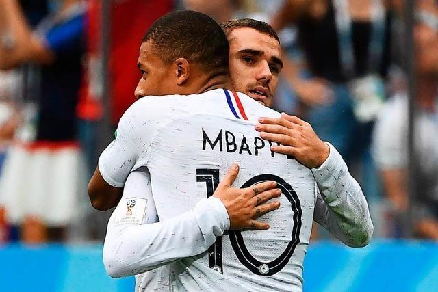Frankreich besiegt Uruguay mit 2:0 und steht im Halbfinale
