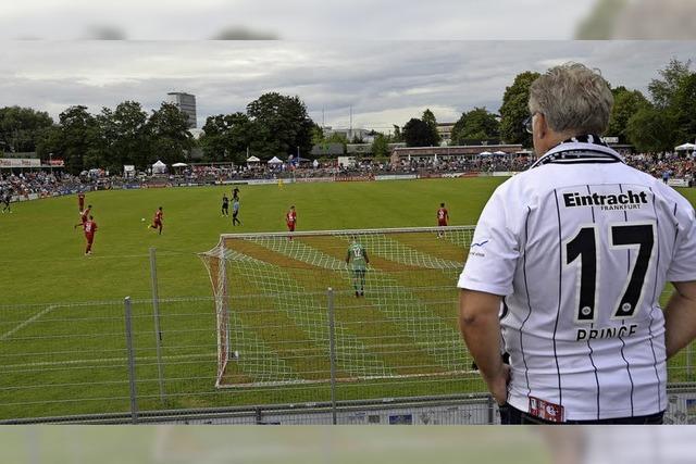 Ein Hauch von großer Fußballbühne