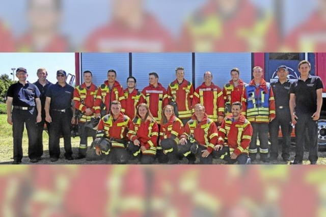 Vielversprechender Feuerwehrnachwuchs