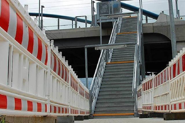 Provisorium an Gleis 8 nur noch bis Herbst 2019