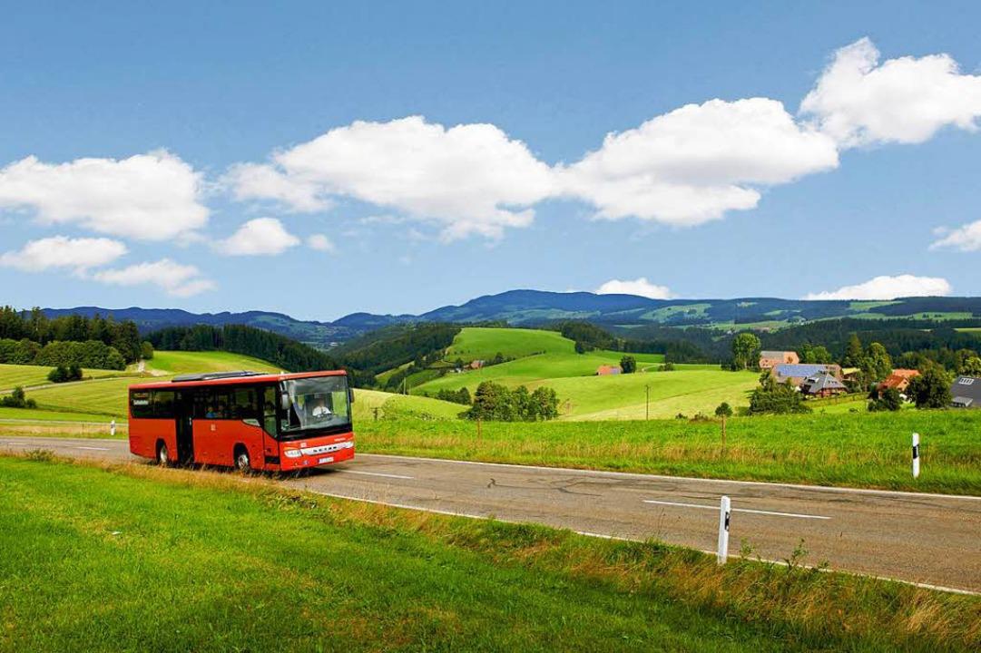Steigen wirklich mehr Leute auf Bus un... wenn die Preise für den ÖPNV steigen?  | Foto: Mesenholl/Schwarzwald Tourismus