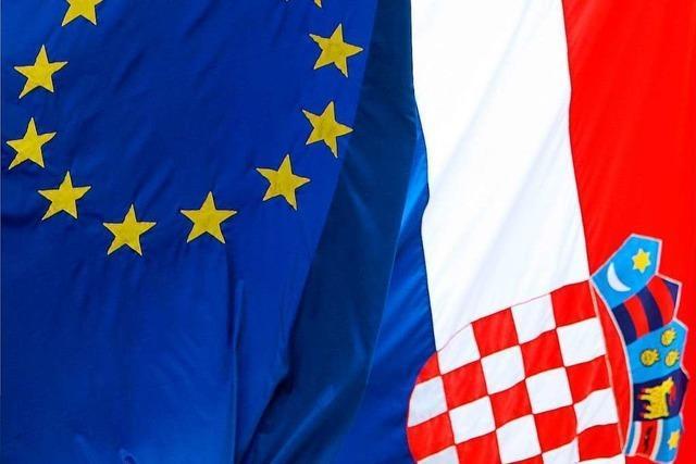 Kroatien hadert noch mit seiner Rolle in der EU