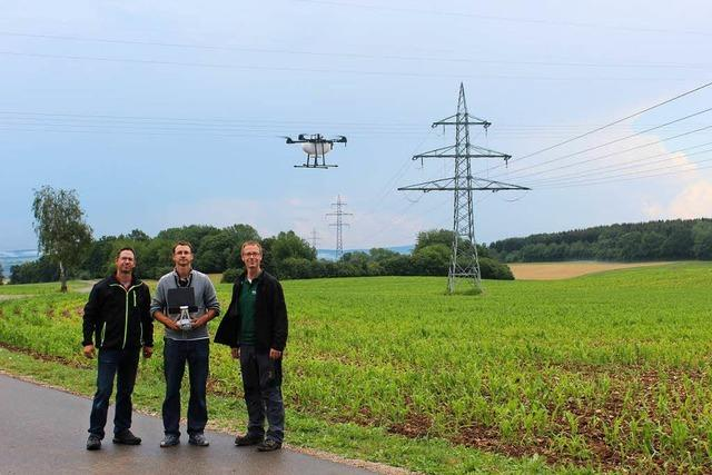Landwirt kämpft im Hochschwarzwald gegen Schädlinge – per Drohne