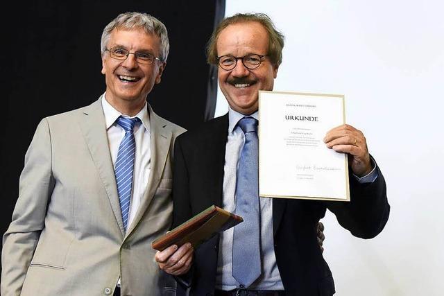 Goodbye, Fuginator: Abschied von Rotteck-Rektor Eberhard Fugmann