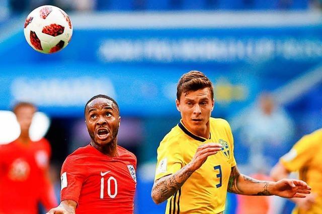 England gewinnt 2:0 gegen Schweden und kommt ins Halbfinale