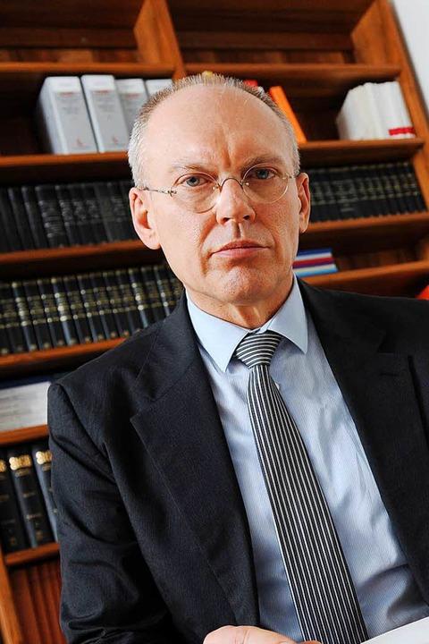 Dieser Prozess ist sein Spätwerk: Manf...ötzl, Vorsitzender  des 6. Strafsenats  | Foto: Tobias Hase