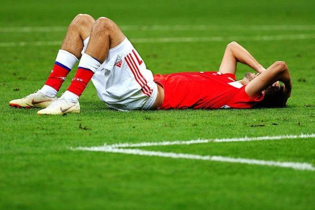 Russland trauert: Kroatien wirft den Gastgeber aus dem WM-Turnier
