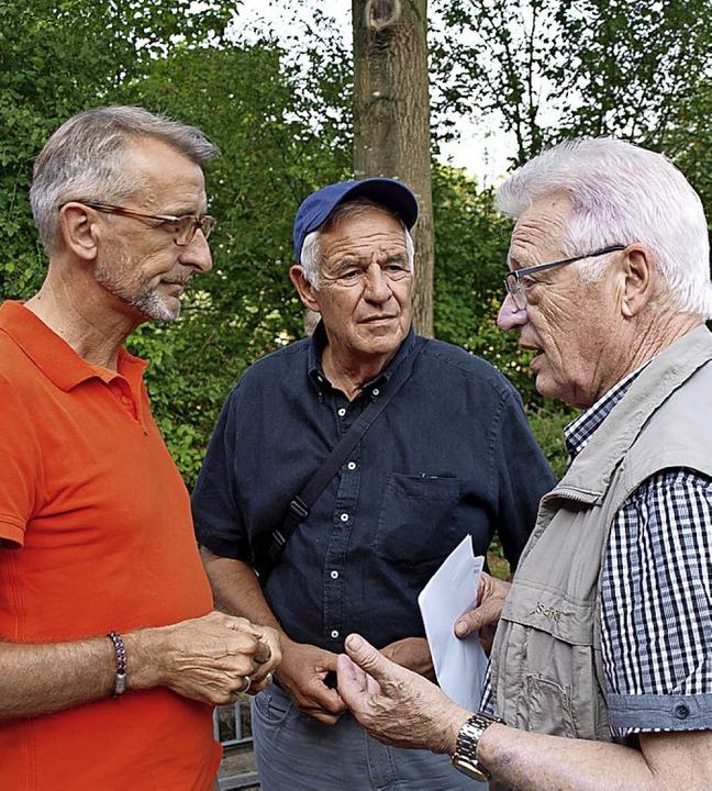 Stammgäste am Banntag: Die Abgeordnete...Riehen) mit Bürgermeister Muchenberger  | Foto: Paul Schleer